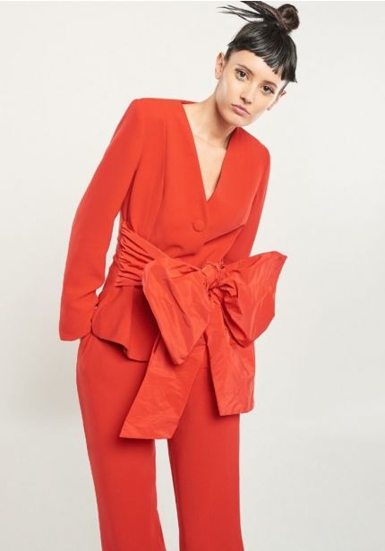 3 Piece Suit in Red