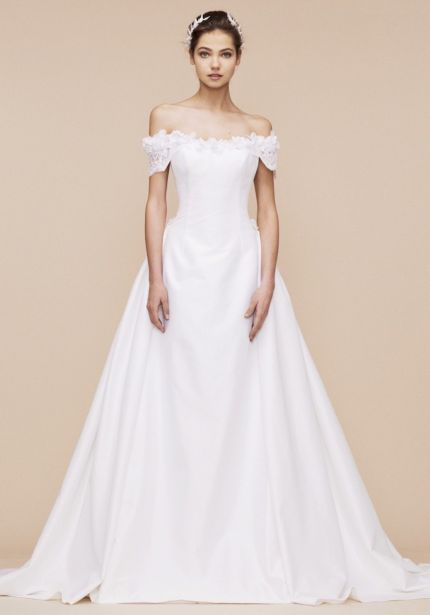 Off-Shoulder Princess Wedding Dress