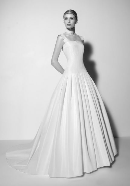 Princess Ball Gown with Pleated Skirt