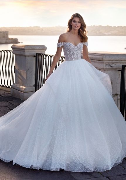 Sparkly Regal Ball Gown