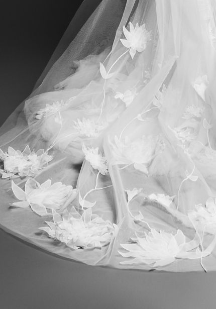 Lily Garden Long Wedding Veil